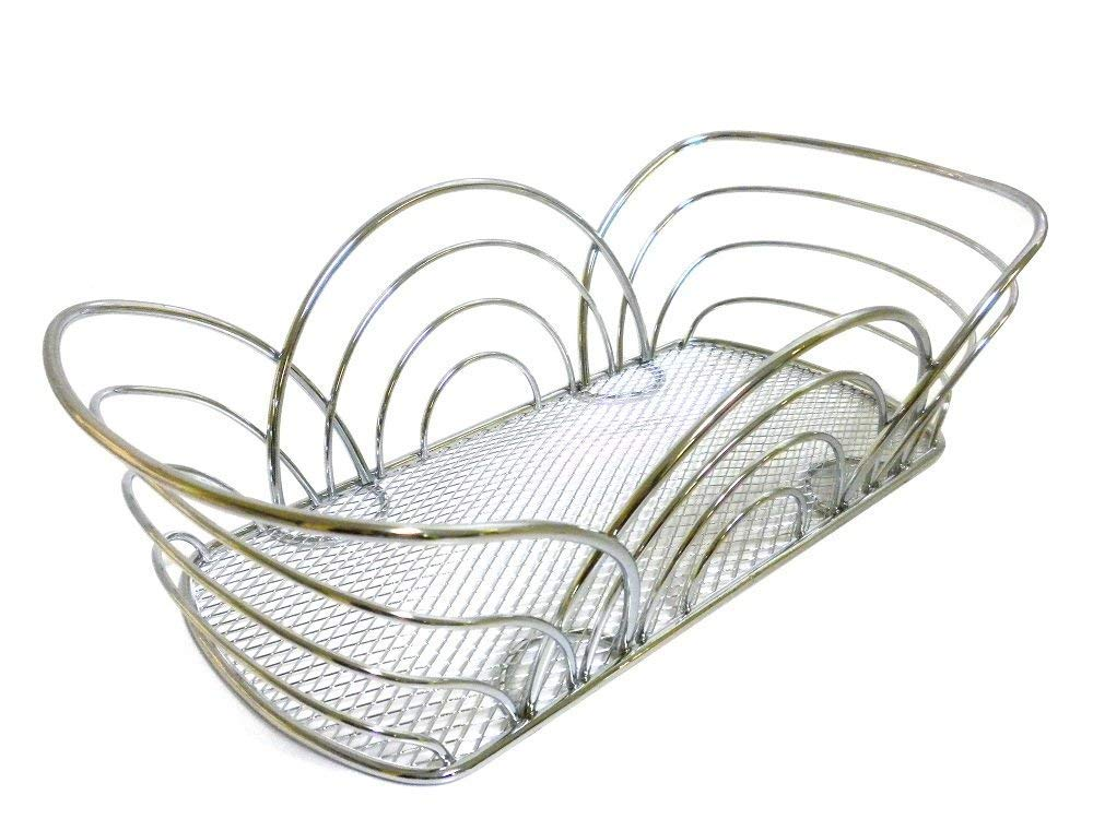 Spectrum Diversified Flower Bread Basket, Chrome