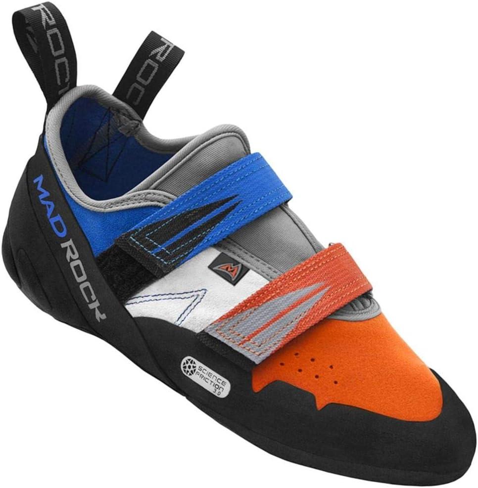 Mad Rock Agama Climbing Shoe - Blue/Orange 11