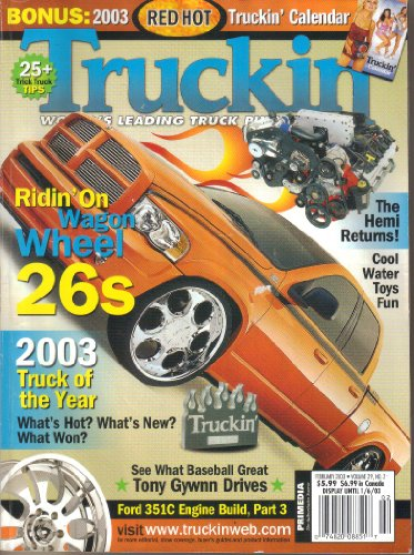 Truckin' Magazine, Vol. 29, No. 2 (February, 2003)