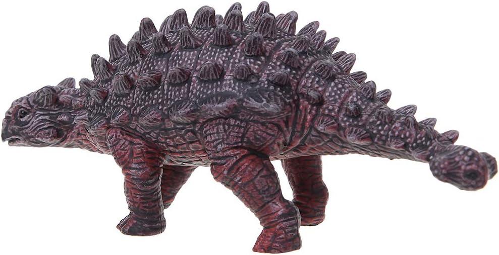 Qiuxiaoaa Saichania Dinosaurio Figuras de Acción Juguetes de Plástico Simulación Nail Art Dragon Mano Marioneta Niños Educativos Modelo Boy Regalo