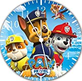 "Best IkEA clock - Paw Patrol Wall Clock 10"" Will Be Nice Review"