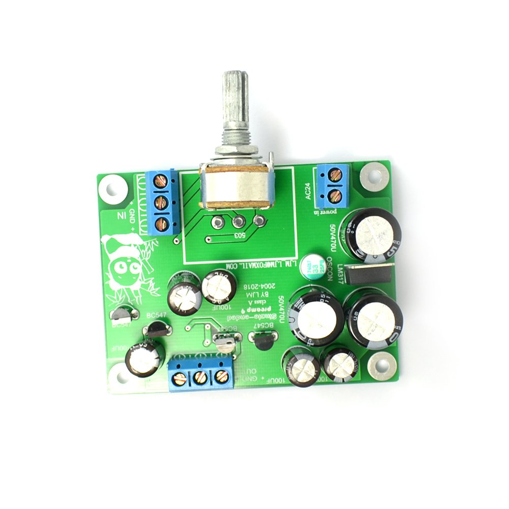 Preamp 9 Single Ended Pure Class A 20hz 20khz Simple Preamplifier With Transistors Bc547 Transistor Board Musical Instruments
