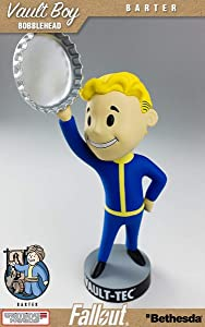 Fallout 3: Vault Tec Pip Boy Barter Bobblehead Figure Toy - 5