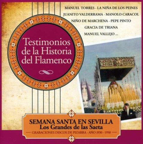 Semana Santa En Sevilla - Los Grandes De La Saeta - Amazon ...