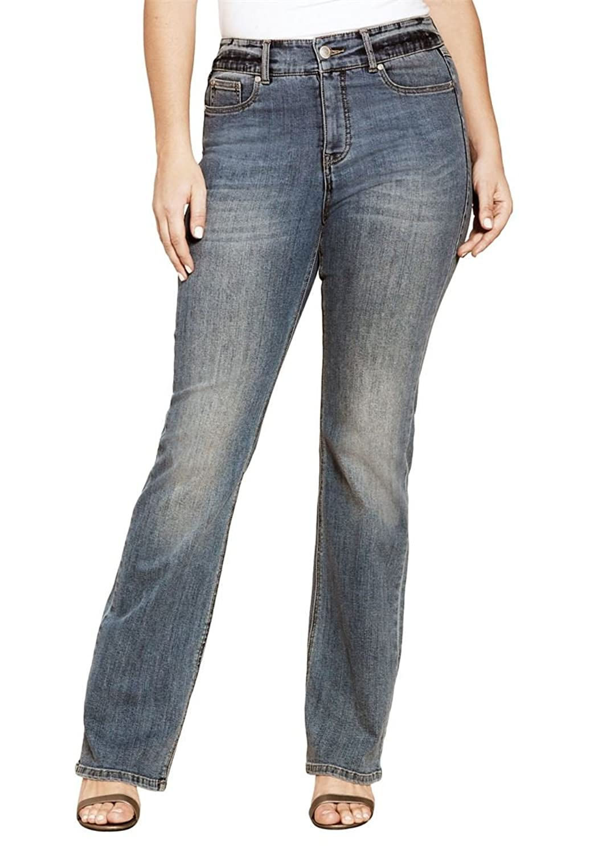 Women's Plus Size Bootcut Sculpting Jeans