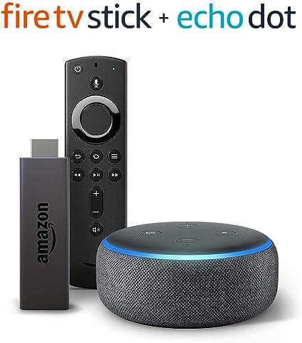 Fire TV Stick bundle with Echo Dot (3rd Gen)