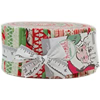 """Swell Christmas Jelly Roll with 40, 2.5"""" Precut Strips from Moda"""