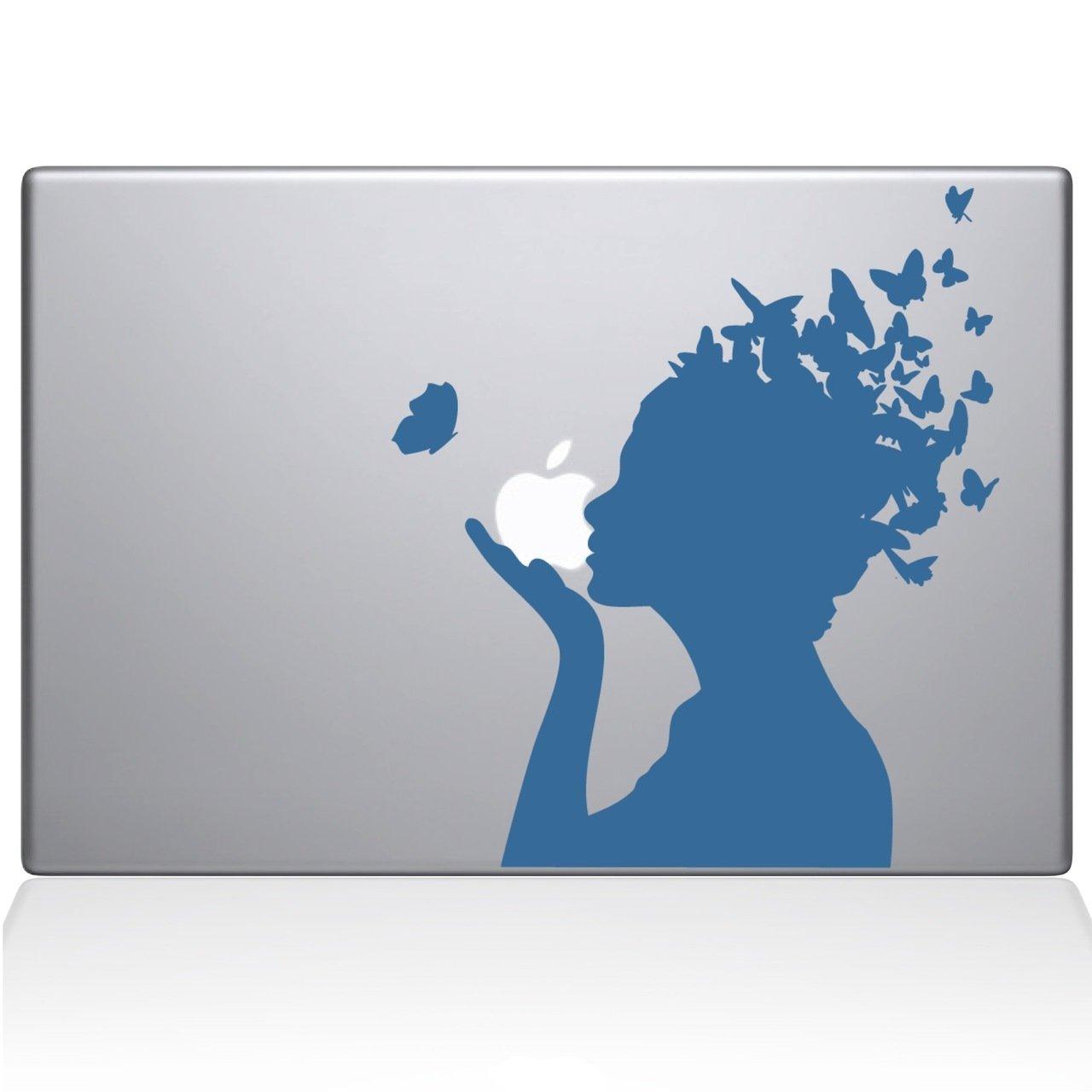 激安な バタフライガールMacbookデカール、Die Cut Vinyl Vinyl Cut Decal B07239NCWV for Windows車、トラック、ツールボックス、ノートパソコン、ほぼすべてmacbook-ハード、滑らかな表面 グレイ Titans-Unique-Design-118937-Light-Blue ライトブルー B07239NCWV, 御座布:8b28a97a --- kickit.co.ke