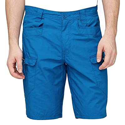 Armani Exchange AIX Utility Cargo Shorts in Blue: Clothing