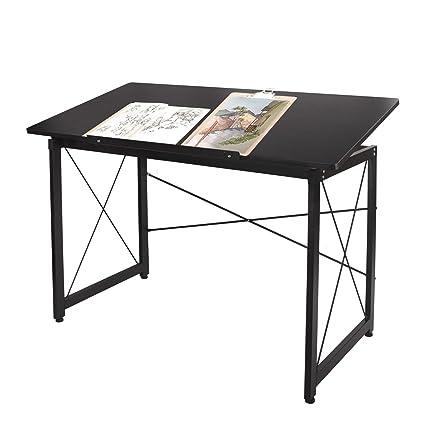47u0027u0027 Adjustable Drafting Table   Art And Craft Drawing Folding Desk    Reading U0026