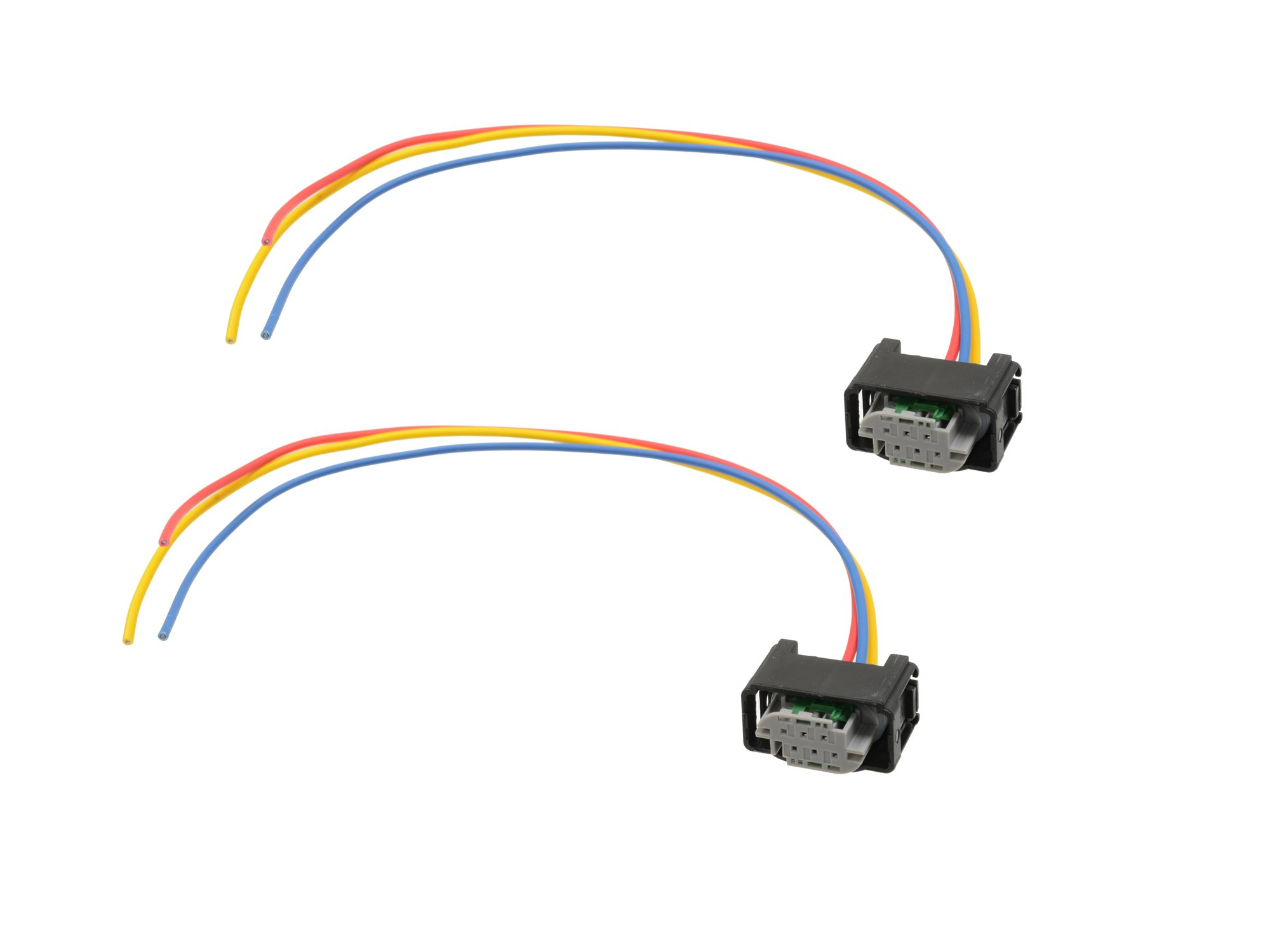 Michigan Motorsports Height Sensor Connector Harness Pigtail 3 Wire Clip For Land Rover Replacement Ymq503220