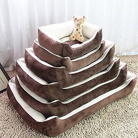 Amazon.com : Dunnomart Naturelife Pet Dog Bed Soft Material Pet Dog Fall Winter Warm Nest Kennel Cat Warming Dog House Puppy Plus Size : Dunnomart : Pet ...