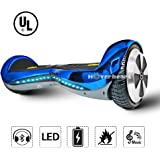 """Hoverboard 6.5"""" UL 2272 Listed Premium Two-Wheel Self Balancing Electric Scooter with Bluetooth Speaker"""