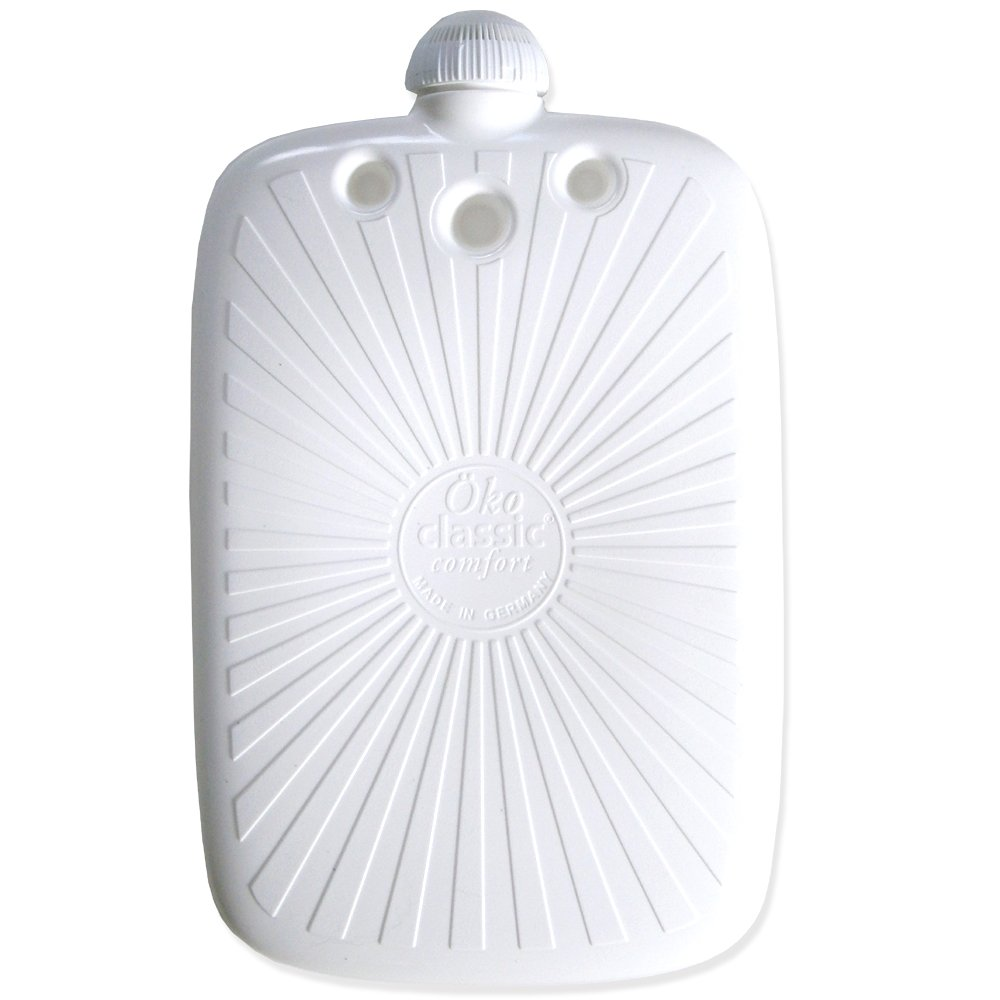 Hugo Frosch 2L Classic ECO Hot Water Bottle with Cover Highest Quality - Made in Germany (Purple) by Hugo Frosch