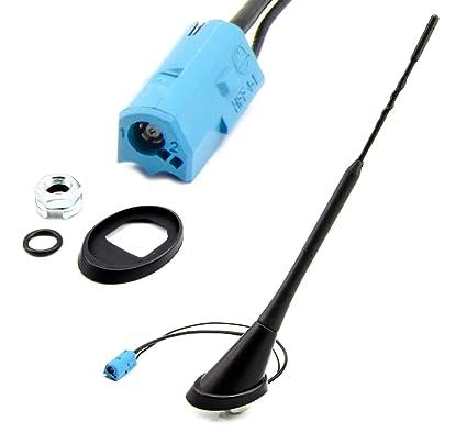 Water Mark WM de 200mno2s3 Antena Antena Techo 24 cm con Amplificador MNO Conector para Astra