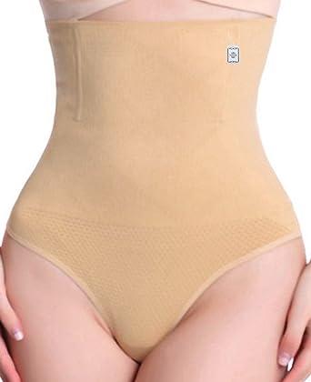 1bd7c6504ac3e Junlan Women High Waist Tummy Shapewear Butt Lifter Control Panty Sexy Body  Thong  Amazon.co.uk  Clothing