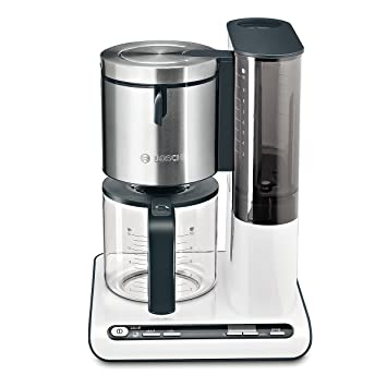 Bosch TKA8631 - Máquina de café, 1160 W, capacidad para 10/15 tazas, color blanco y gris: Bosch: Amazon.es: Hogar