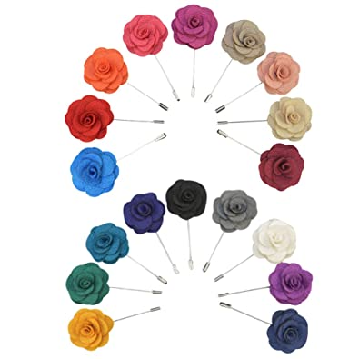 Soleebee Ym008 Ansteckblumen Gemischt Zufällig Herren Handgefertigt