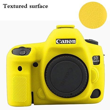 Amazon.com: Yisau - Funda de silicona para cámara Canon 5D ...