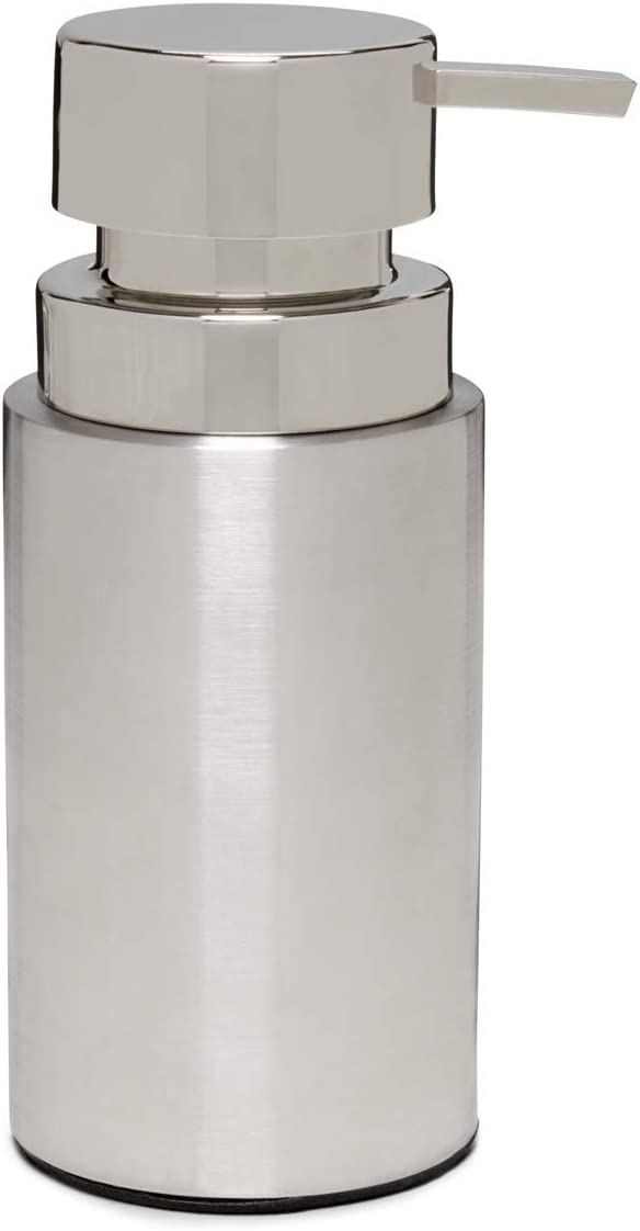 Calvin Klein Home Strata Bath Collection, Lotion Pump, Stainless Steel