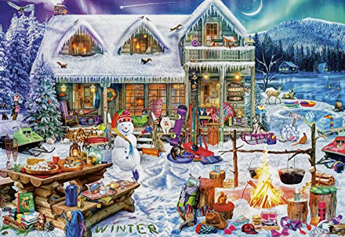 Buffalo Games - Aimee Stewart - Winterland Fun - 2000 Piece Jigsaw Puzzle