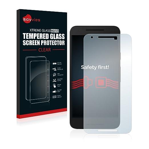 5 opinioni per Savvies Vetro LG Nexus 5X Pellicola Vetro Temperato, Vetro Protettivo- Durezza