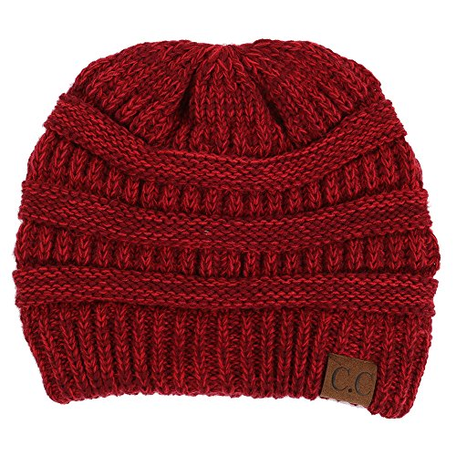 Funky Junque H-6800-64 Marled Ribbed Beanie - ()