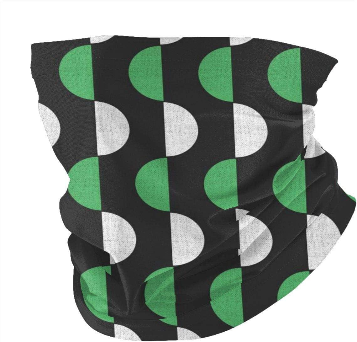 BUXI Printing Magic Headbands,Geometric Semicircle Men Women Headband,Decorative Multifunctional Headwears For Sports Fishing,25x50cm
