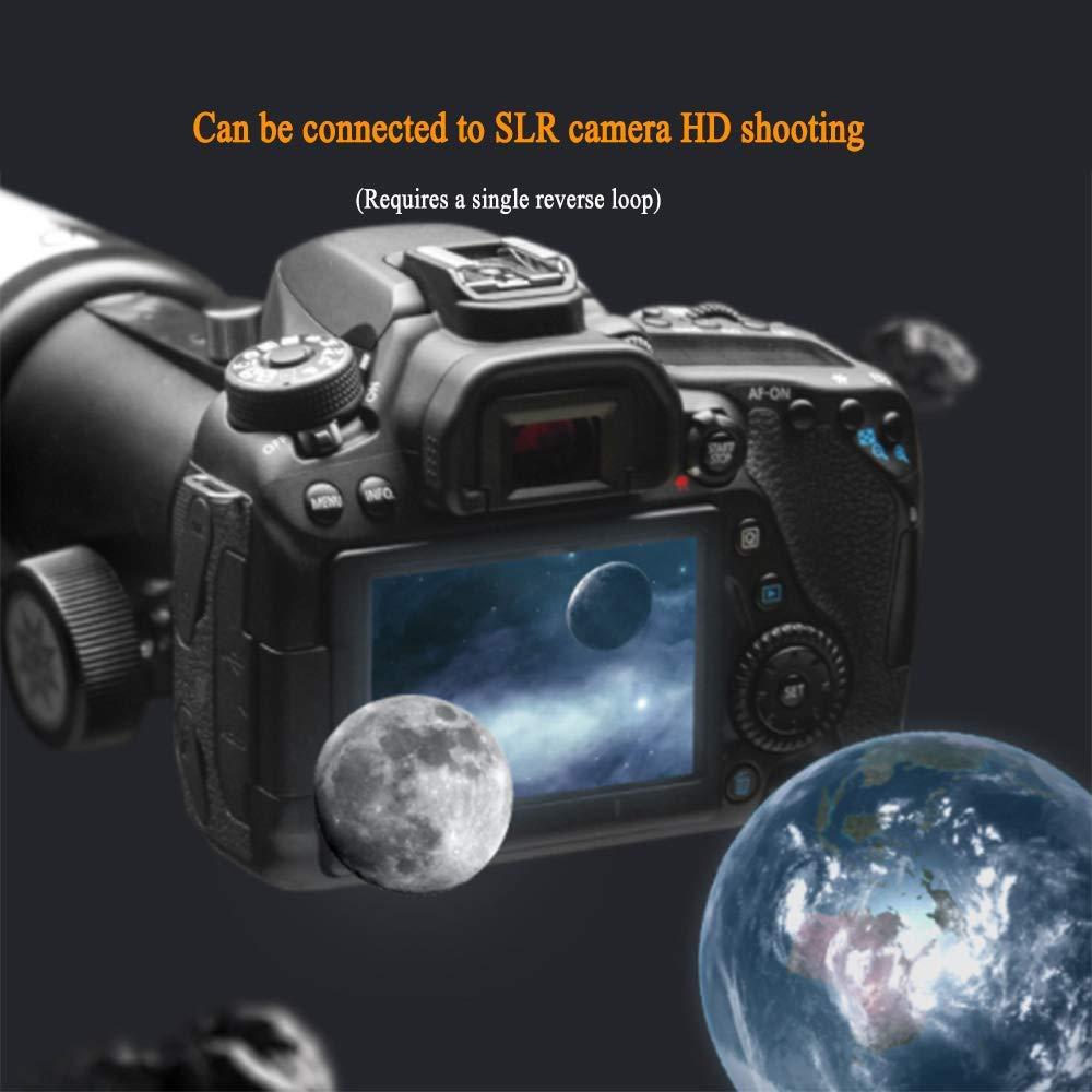 HGERFXC Telescopio, Refracción Astronómica Lente Óptica de Vidrio ...