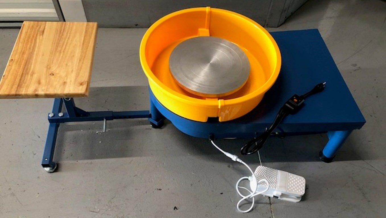 Pottery Wheel Potter's wheel 1/3 hp Motor Clay Ceramic w/Seat/tools by VKRP Enterprises
