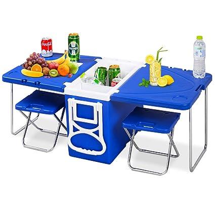 Amazon.com: Giantex - Enfriador para picnic, multifunción ...