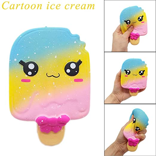 Amazon.com: Fangoog Squishies Toy Squeeze Kawaii Cute Ice ...