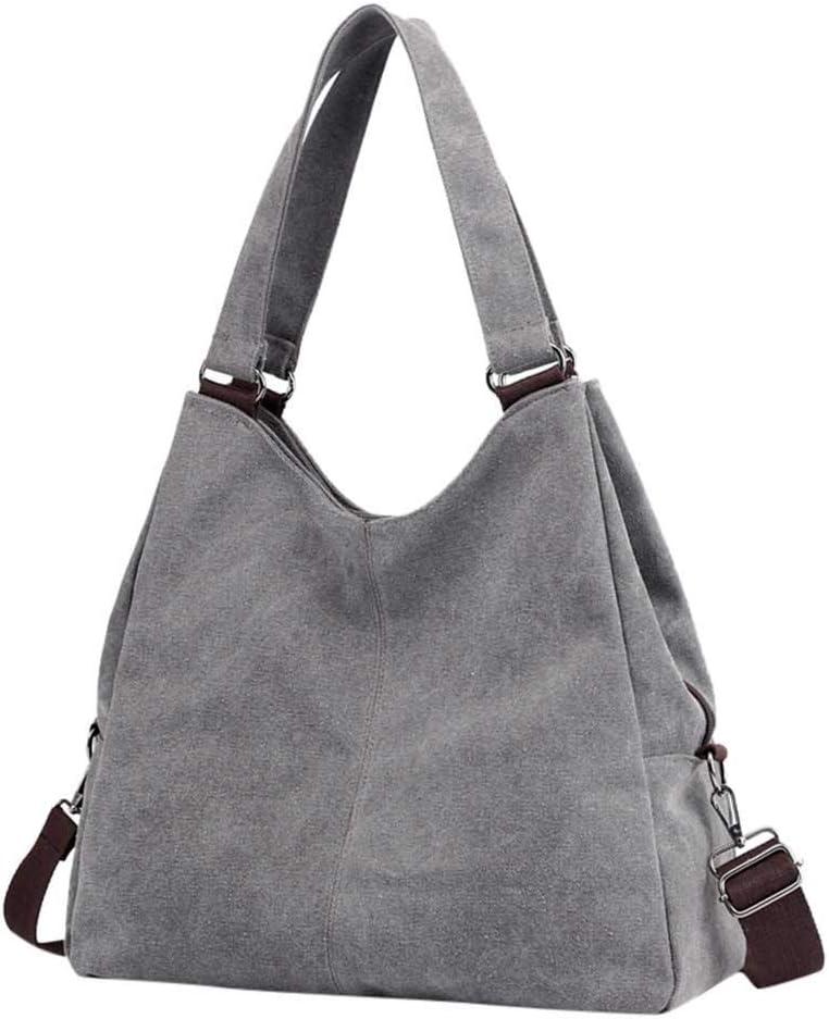 Aubbly Purse Handbag for Women Canvas Tote Bag Casual Shoulder Rucksack Fashion Bags Totes Crossbody Messenger Cloth Satchel Travel Work Business Handbags