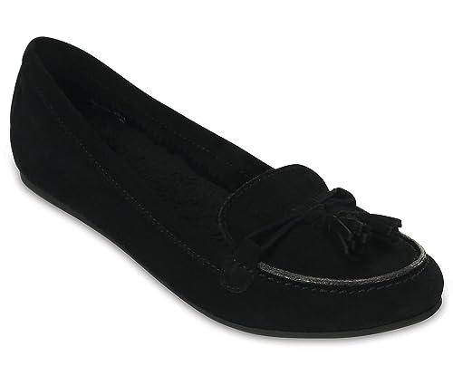 Crocs - Mocasines para Mujer Negro Negro 37.5 EU: Amazon.es: Zapatos y complementos