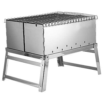 ILUVBBQ Estufa Plegable portátil de la Barbacoa del BBQ del ...