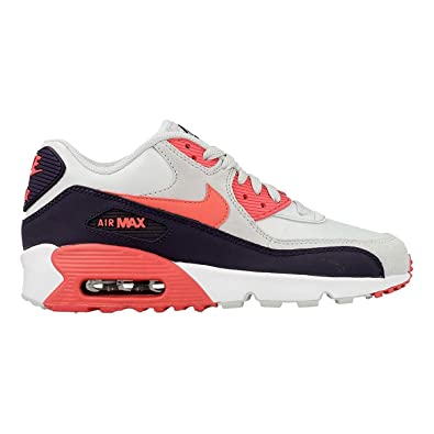 outlet store b9772 55f41 Nike Youths Air Max 90 Multi Leather Trainers 35.5 EU