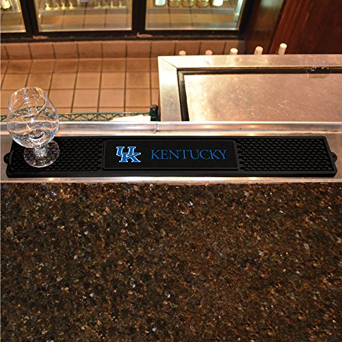 FANMATS NCAA University of Kentucky Wildcats Vinyl Drink Mat