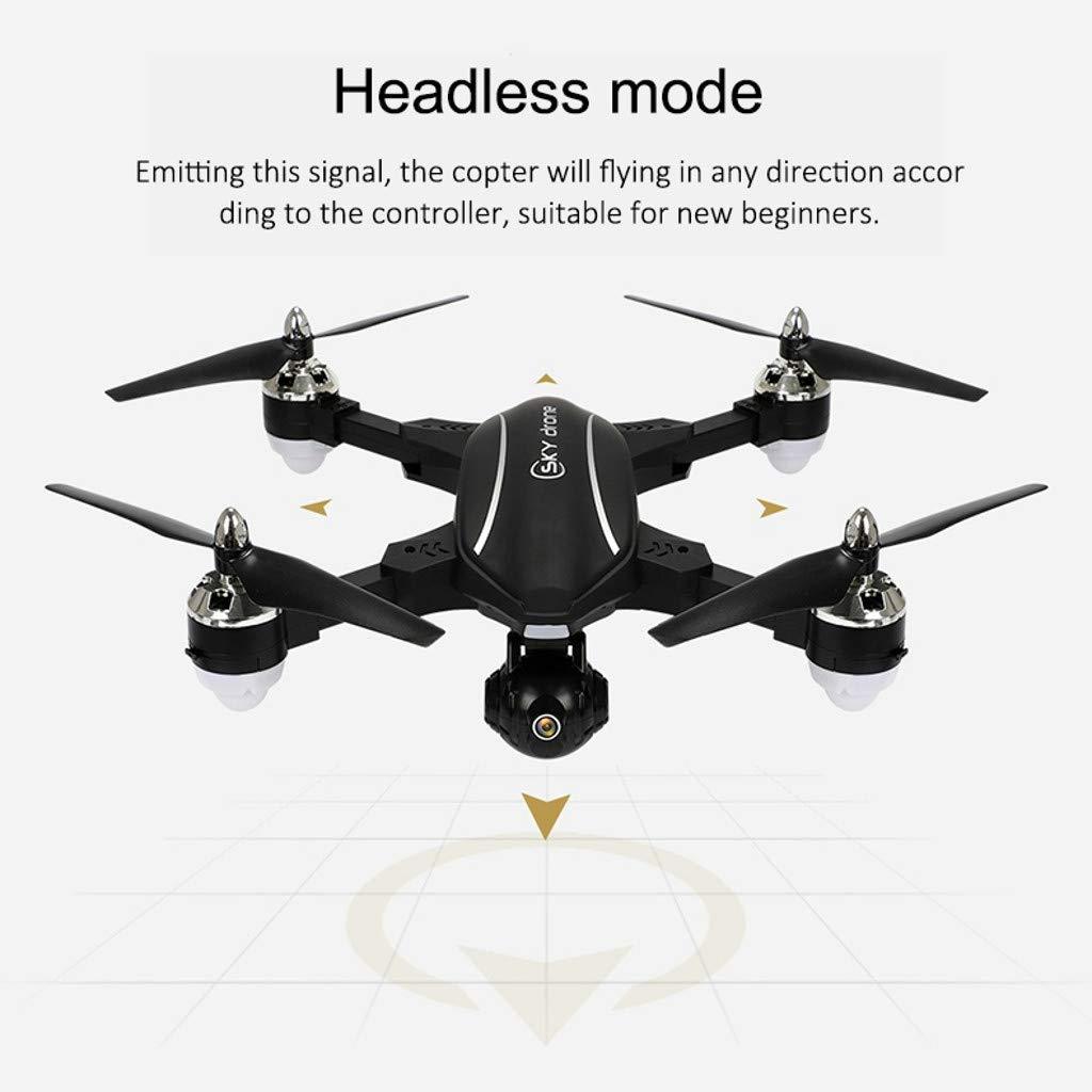 MOZATE LE IDEA LD-220 Foldable 2.4Ghz 2MP WiFi FPV 720P HD RC Quadcopter Selfie Drone (Black) by MOZATE (Image #2)
