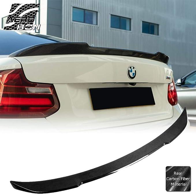Carbon Fiber Rear Trunk Spoiler Wing Lip for 2014 BMW 2 Ser F22 F23 /& F87 M2 DN