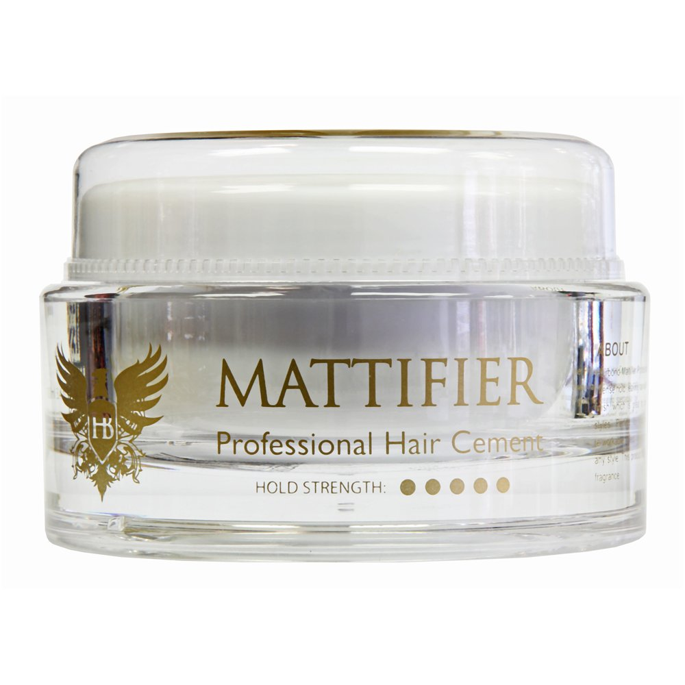HairBond 100 ml Mattifier Professional Hair Cement by Hairbond
