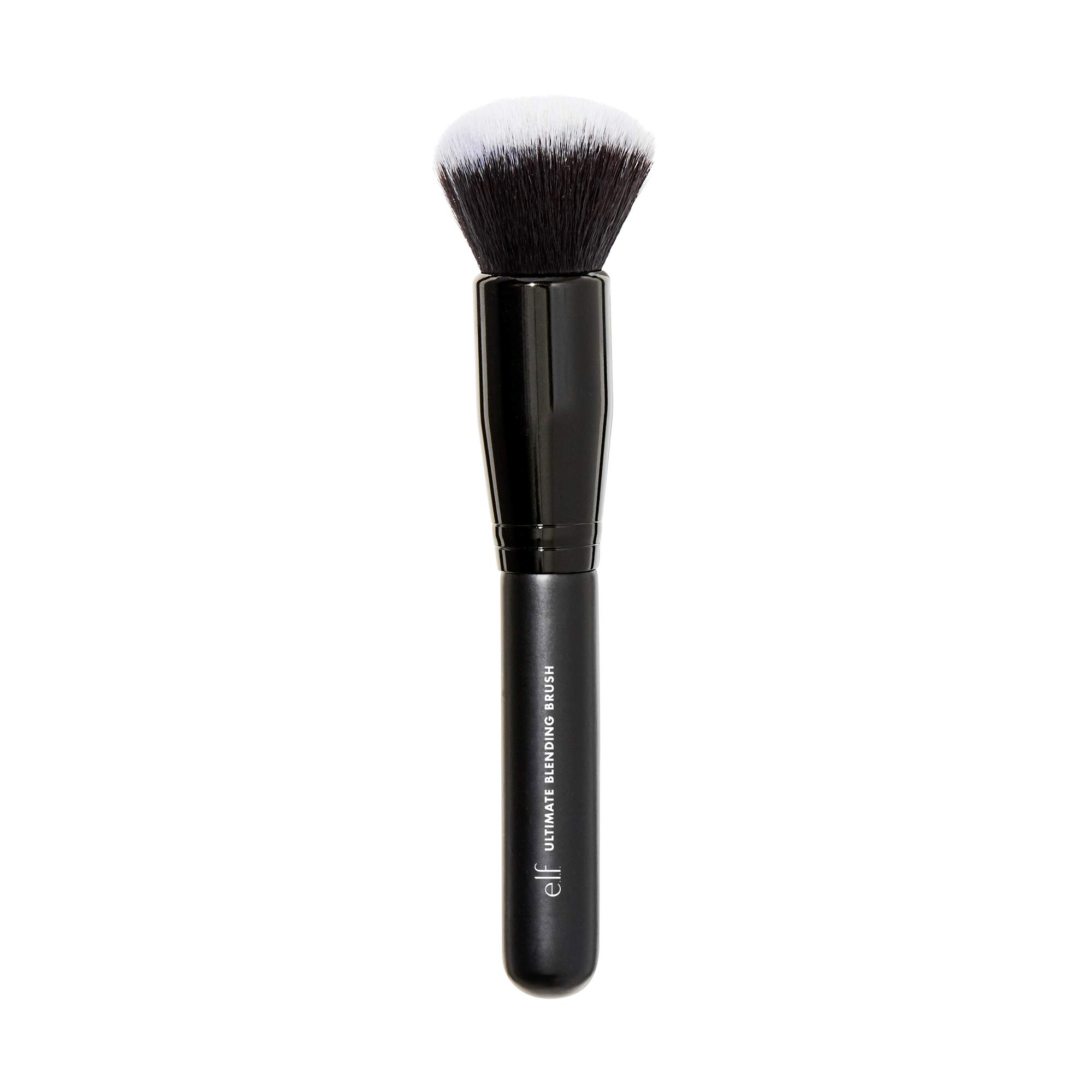 e.l.f., Ultimate Blending Brush, Soft, Synthetic, Large, Dome-Shaped, Dense, Contours Face for Seamless, Even Coverage, Sculpts, Easy To Clean, Easy To Use, 0.16 Oz