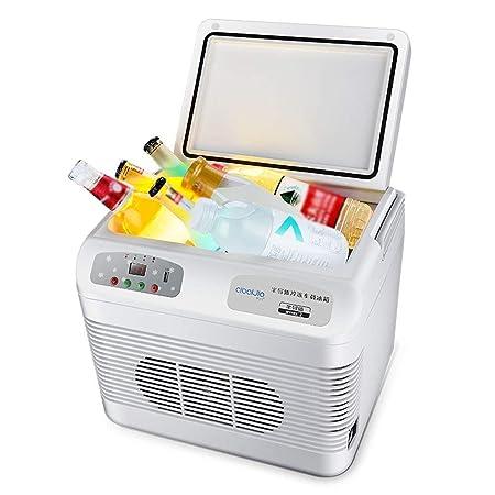 WYJW Mini refrigerador portátil hlbox refrigerador y calefacción ...