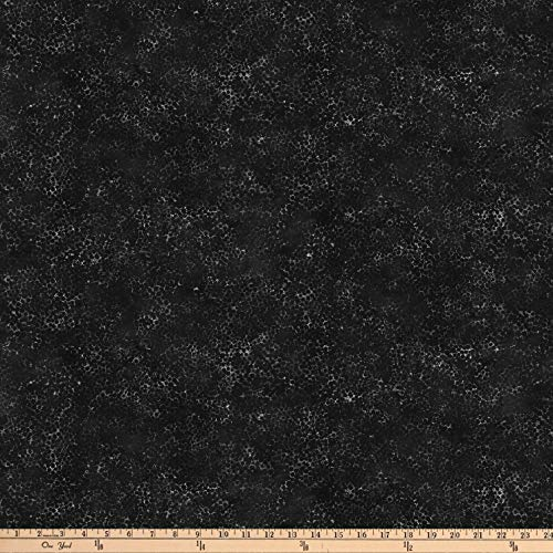 Northcott Dragonfly Moon Tranquility Black, Fabric by the Yard