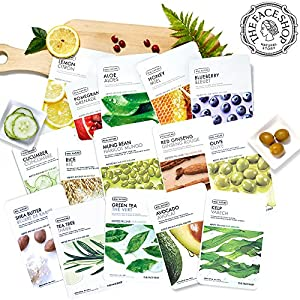 The Face Shop Real Nature Facial Mask Sheet (15 or 10 Count)