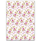 Paper Themes Girls Birthday Wrapping Paper Personalised Gift Wrap - 21st Balloons