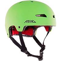 Rekd Elite Helmet Casco, Unisex niños, Verde (Green/Black)