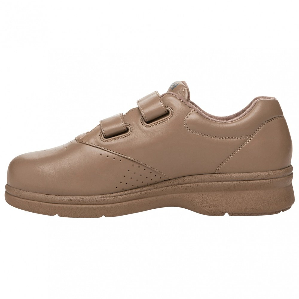 Propet Women's Vista Strap Sneaker B00GW7I48U 6.5 B(M) US|Taupe