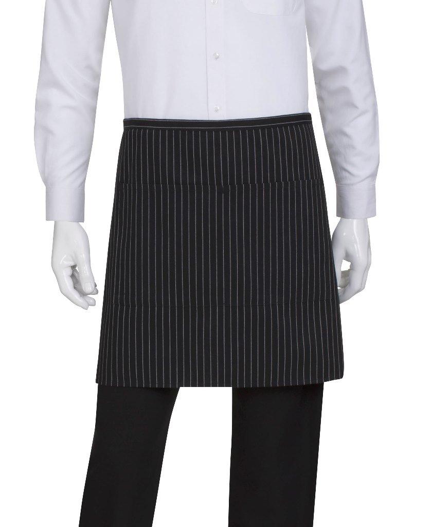 White bistro apron - Chef Works Half Bistro Server Apron F28 Kitchen Aprons Amazon Com