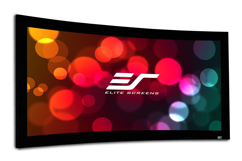 プロジェクタースクリーン リュネット 110インチ(16:9) シネホワイト素材 Curve110WH1 B005TFUJCK