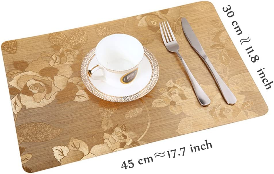Sets de Table en Bois (x2) Achat Set de Table Original